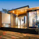 บ้านตากอากาศ สร้างจากตู้คอนเทนเนอร์ สวยทันสมัยในสไตล์โมเดิร์นสุดเนี้ยบ