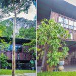 บ้านรีสอร์ท จากตู้คอนเทนเนอร์ ออกแบบและตกแต่งครบทุกการใช้งาน โอบล้อมด้วยธรรมชาติเขียวขจี