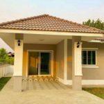 บ้านร่วมสมัยขนาดกะทัดรัด 2 ห้องนอน 2 ห้องน้ำ พร้อมพื้นที่ใช้สอย 80 ตารางเมตร