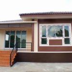 บ้านยกพื้นชั้นเดียว ดีไซน์คอนเทมโพรารี 3 ห้องนอน 2 ห้องน้ำ พร้อมพื้นที่ 140 ตารางเมตร (ก่อสร้างที่จังหวัดชัยภูมิ)