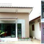 บ้านขนาดกะทัดรัดไตล์โมเดิร์น ภายในตกแต่งปูนเปลือย ผสมผสานเข้าสีสันสดใส พร้อมพื้นที่ใช้สอยครบครัน