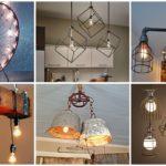 """40 ไอเดีย """"โคมไฟแนวอินดัสเทรียลลอฟท์"""" สร้างเสน่ห์ให้บ้านปูนเปลือย ด้วยโคมไฟสวยงามมีมิติ"""