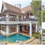 บ้านไทยร่วมสมัยสองชั้น ดีไซน์งามสง่าดูมีเอกลักษณ์ ให้กลิ่นอายบ้านเรือนไทยดั้งเดิม