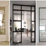 """33 ไอเดีย """"ประตูกระจกภายในบ้าน"""" เพิ่มความโปร่งโล่งให้แก่พื้นที่อยู่อาศัย"""