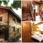 บ้านสองชั้นสไตล์คันทรี่ สวยงามด้วยการตกแต่งปูนเปลือยและงานไม้ ให้บรรยกาศการอยู่อาศัยแบบชนบท