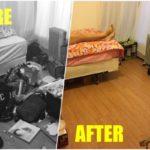 """14 ภาพถ่าย """"ก่อนและหลังทำความสะอาดห้อง"""" จากสภาพรกๆ กลายเป็นสวยน่าอยู่ เห็นแล้วต้องกลับไปจัดห้องตัวเองด่วน!"""