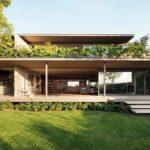 บ้านสองชั้นทรงเหลี่ยม ตกแต่งสไตล์ปูนเปลือย ลงตัวไปกับโครงสร้างทันสมัย ให้ดีไซน์สวยดิบทุกมุมมอง