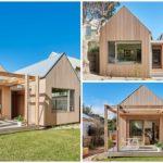 บ้านไม้หน้าจั่วสไตล์โมเดิร์นรัสติค ดีไซน์เป็นเอกลักษณ์ ตกแต่งน่าอยู่ด้วยงานไม้สีสวย พร้อมด้วยบรรยากาศอบอุ่น
