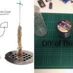 """แบ่งปันไอเดีย DIY """"ที่ดักเส้นผมในท่อระบายน้ำ"""" จากของใช้ใกล้ตัว ขั้นตอนง่ายๆ ไม่ต้องเสียเงินซื้อ"""