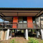 บ้านน็อคดาวน์ยกพื้นสูง 2 ห้องนอน 1 ห้องน้ำ ออกแบบเพื่ออำนวยความสะดวกแก่ผู้สูงอายุโดยเฉพาะ