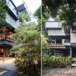 บ้านสไตล์ลอฟท์สามชั้น ดีไซน์เพื่อการใช้ชีวิตที่เรียบง่าย ในบรรยากาศสดชื่นจากสวนรอบบ้าน
