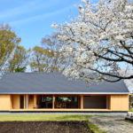 แบบบ้านไม้ชั้นเดียว ออกแบบเรียบง่ายสไตล์มินิมอล บรรยากาศบ้านไร่สงบเงียบ
