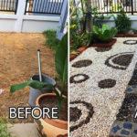 """แชร์ไอเดีย """"จัดสวนหน้าบ้านด้วยตัวเอง"""" เปลี่ยนสนามหญ้าเปล่าๆ ให้กลายเป็นสวนหินสุดพิถีพิถัน"""