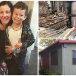 """""""ซิงเกิ้ลมัมสุดแกร่ง"""" คุณแม่สร้างบ้านหลังน้อยด้วยตัวเอง อยู่อาศัยกับสองลูกน้อยหลังแยกทางจากสามี"""