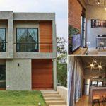 บ้านพักตากอากาศ สไตล์อินดัสเทรียลลอฟท์ รูปทรงกล่องสี่เหลี่ยม ภายในแฝงความดิบไว้อย่างมีเอกลักษณ์