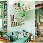 """32 ไอเดีย ตกแต่งห้องนั่งเล่นด้วย """"สีเขียวมินต์"""" สร้างบรรยากาศสดชื่น และอ่อนหวานให้กับบ้าน"""
