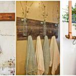 """33 ไอเดีย DIY """"ที่แขวนผ้าเช็ดตัว"""" เพิ่มเสน่ห์ และความเก๋ไก๋ให้กับห้องน้ำในบ้าน"""