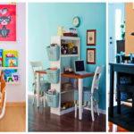 """35 ไอเดีย """"ห้องทำการบ้านสำหรับเด็ก"""" ส่งเสริมจินตนาการ และการเรียนรู้ให้ลูกน้อยภายในบ้าน"""