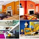 """43 ไอเดีย ตกแต่งบ้านให้สวยสดด้วย """"ห้องนั่งเล่นสีสันที่ตัดกัน"""" เพื่อสร้างบรรยากาศที่สนุกสนาน"""