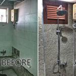 รีโนเวทห้องน้ำเก่าสุดโทรม ให้กลายเป็นห้องน้ำใหม่สไตล์ลอฟท์ ทันสมัย น่าใช้สุดๆ