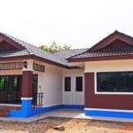 บ้านร่วมสมัยชั้นเดียว 2 ห้องนอน 1 ห้องน้ำ พร้อมพื้นที่กว้างขวางใช้งานได้อย่างอิสระ