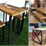 """30 ไอเดีย """"โต๊ะโครงเหล็ก"""" เฟอร์นิเจอร์สุดทนทาน ใช้ตกแต่งบ้านสไตล์ลอฟท์ได้อย่างสวยงาม"""