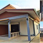 บ้านสไตล์โมเดิร์นชั้นเดียว เรียบง่ายลงตัว มีพื้นที่ทำครัวไทย พร้อมศาลาพักผ่อนนอกบ้าน