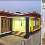 บ้านสไตล์โมเดิร์นชั้นเดียว ดีไซน์สะดุดตามีเอกลักษณ์ 4 ห้องนอน 2 ห้องน้ำ โทนสีอบอุ่นน่าพักผ่อน