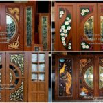 """35 ไอเดีย """"บานประตูไม้สัก"""" ตกแต่งบ้านให้ดูหรูหรามีระดับ สร้างความสวยงามตั้งแต่ทางเข้าบ้าน"""