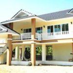 บ้านยกพื้นสูงทรงไทยประยุกต์ 5 ห้องนอน 3 ห้องน้ำ งดงามตามแบบฉบับบ้านไทย (ก่อสร้างที่จังหวัดเชียงใหม่)