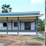 บ้านชั้นเดียวสไตล์ทันสมัย เน้นการออกแบบเรียบง่ายน่าอยู่ เหมาะสำหรับก่อสร้างในชนบท