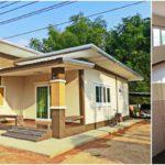 บ้านชั้นเดียวสไตล์โมเดิร์น ความเรียบง่ายที่ลงตัว ในงบก่อสร้างเพียง 500,000 บาท