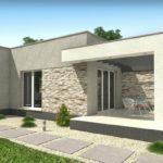 แบบบ้านสไตล์โมเดิร์น ขนาดกะทัดรัด 1 ห้องนอน 1 ห้องน้ำ พร้อมพื้นที่ใช้สอยกว้างขวาง