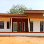 บ้านสไตล์โมเดิร์นขนาดกะทัดรัด ออกแบบเพื่อต้นแบบบ้านอิฐประสานสมัยใหม่ ในงบประมาณที่คุ้มค่า