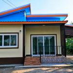บ้านชั้นเดียวดีไซน์เรียบง่าย ครบครันทุกฟังก์ชั่นในพื้นใช้สอยขนาด 65 ตารางเมตร
