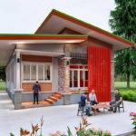 แบบบ้านโมเดิร์นหน้าแคบ ดีไซน์เพื่อครอบครัวเริ่มต้น ประหยัดพื้นที่ก่อสร้างแต่ครบครันทุกการใช้งาน