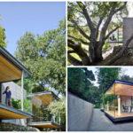 บ้านโมเดิร์นริมเชิงเขา ตกแต่งด้วยผนังกระจกใส ให้มุมมองธรรมชาติได้รอบทิศทาง
