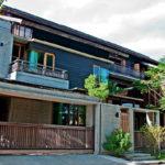 บ้านไม้ทรงไทยประยุกต์ ผสานการตกแต่งด้วยสไตล์คอนเทมโพรารีลอฟท์ สวยดิบ และมีเสน่ห์อย่างลงตัว