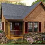 บ้านไม้สไตล์รัสติค ขนาดกะทัดรัด พร้อมห้องนอนใต้หลังคา ออกแบบด้วยบรรยากาศอบอุ่น ใกล้ชิดกับธรรมชาติ