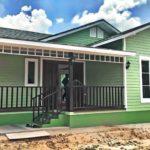 บ้านสไตล์วินเทจโทนสีเขียว 2 ห้องนอน 1 ห้องน้ำ พื้นที่ใช้สอย75 ตารางเมตร ราคา 950,000 บาท