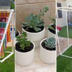 """25 ไอเดีย DIY จาก """"ท่อ PVC"""" เปลี่ยนท่อน้ำธรรมดาให้กลายเป็นของตกแต่งบ้านและสวน"""