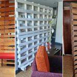 """33 ไอเดีย """"ฉากไม้พาเลทกั้นห้อง"""" แบ่งพื้นที่ใช้สอยในบ้าน ในรูปแบบที่เรียบง่ายสไตล์ฮิป"""