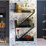 """34 ไอเดีย """"ชั้นวางของสไตล์อินดัสเทรียลลอฟท์"""" จัดระเบียบและเพิ่มความสวยงามให้พื้นที่ภายในบ้าน"""