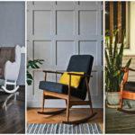 """35 ไอเดีย """"เก้าอี้โยก"""" ตกแต่งมุมพักผ่อนให้สบายและสวยงามด้วยเก้าอี้ตัวโปรด"""