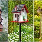 """36 ไอเดีย """"บ้านนก"""" แบ่งปันที่อยู่อาศัยให้นกน้อย พร้อมกับตกแต่งสวนหลังบ้านด้วยเฟอร์นิเจอร์สุดเก๋"""