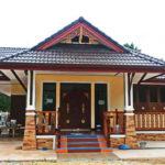 บ้านชั้นเดียวทรงไทยประยุกต์ สวยงามมีเอกลักษณ์ พร้อมพื้นที่ใช้สอย 120 ตารางเมตร