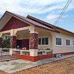 บ้านชนบทสไตล์ร่วมสมัย 2 ห้องนอน 2 ห้องน้ำ ออกแบบเพื่อการพักผ่อนหลังวัยเกษียณ