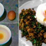 """วิธีทำ """"ไข่ดาวไร้น้ำมัน"""" ทำง่ายๆ ใช้เวลาเพียง 2 นาที ทานคู่กับเมนูอะไรก็อร่อย"""