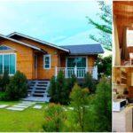บ้านไม้สนตากอากาศ 2 ห้องนอน 1 ห้องน้ำ ออกแบบครบครันทุกฟังก์ชั่น เพื่อการพักผ่อนอันสุขสบาย