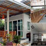บ้านหลังน้อยแนวโมเดิร์น พื้นที่ใช้สอยกะทัดรัด ตอบโจทย์การพักผ่อนที่เป็นส่วนตัว ก่อสร้างในงบเพียง 150,000 บาท